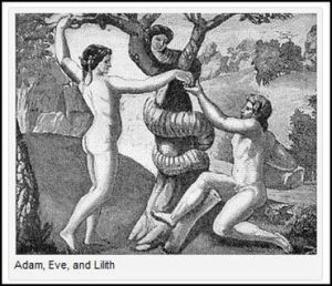 Adan, even and Lilith