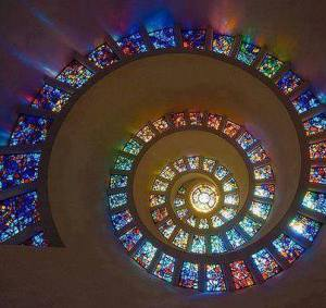 Glory Window at the Chapel of Thanksgiving, Dallas, Texas