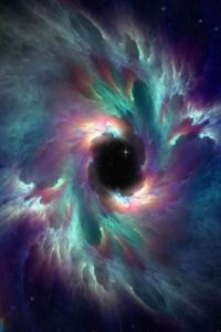 Black Hole The magical strength, beauty and mystery of a Black Hole as seen by powerful telescope.