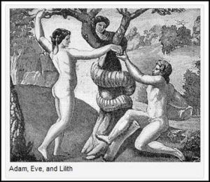 Adan, Eve and Lilith