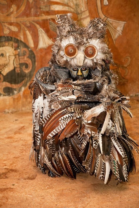 mayan-dancer-representing-an-owl-symbol-of-death-in-mayan-mythology