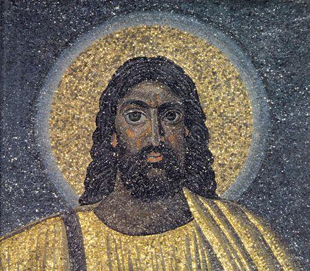 mosiac-of-jesus-in-a-church-in-rome-ad530