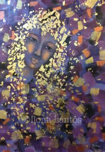 """Listening is Golden"" by Ilona Lantos Gold is one of the highest vibrations available to us, a source of much healing. Image used in accordance with Fair Use Principles."